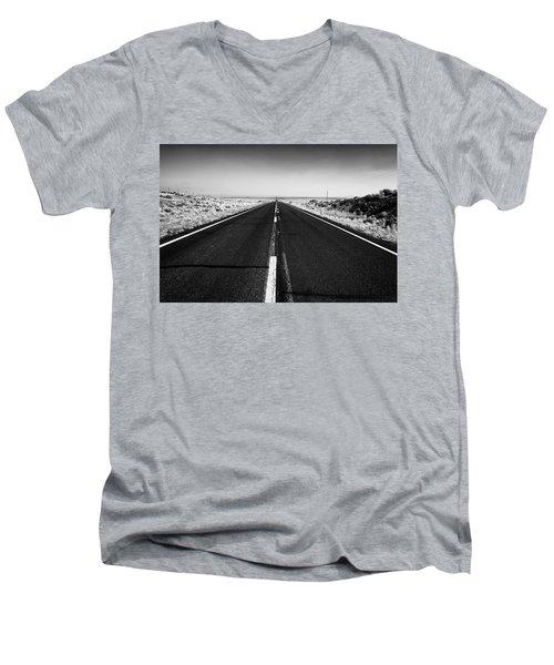 Road To Forever Men's V-Neck T-Shirt