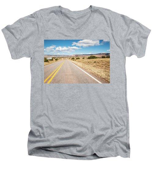 Road To San Ysidro Men's V-Neck T-Shirt
