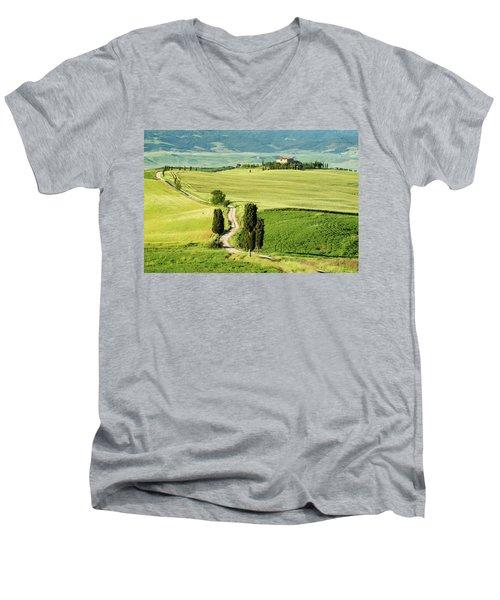 Road To Terrapille Men's V-Neck T-Shirt