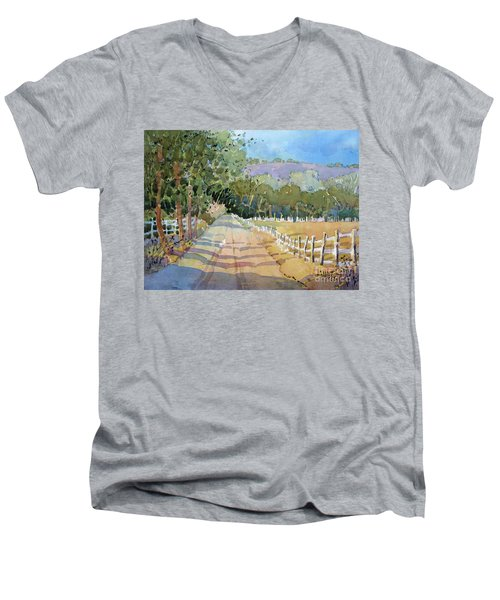 Road To The Vineyard Men's V-Neck T-Shirt