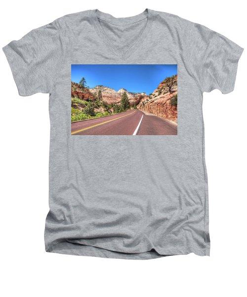 Road To Zion Men's V-Neck T-Shirt