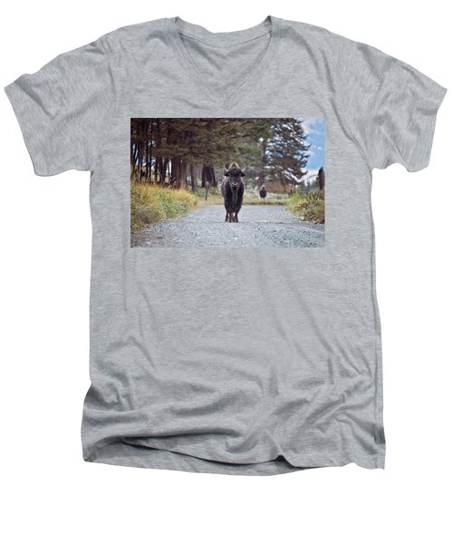 Roadblock Men's V-Neck T-Shirt