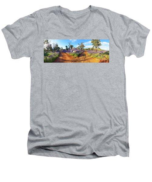 Roads To Salvation Jane Men's V-Neck T-Shirt
