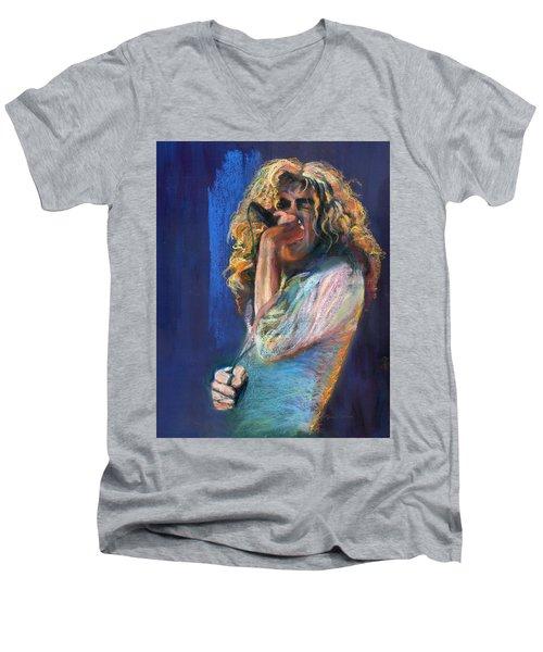 Robert Plant Men's V-Neck T-Shirt
