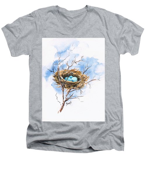 Robin's Nest Men's V-Neck T-Shirt