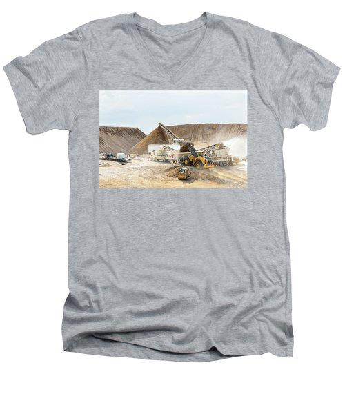 Rock Crushing 3 Men's V-Neck T-Shirt
