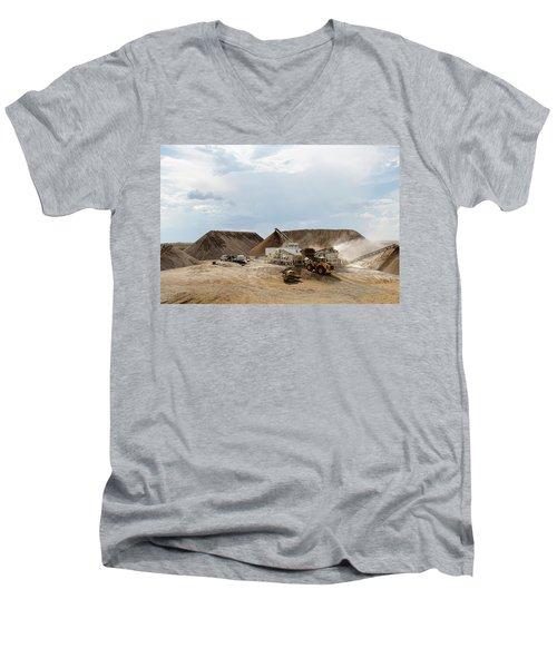 Rock Crushing Men's V-Neck T-Shirt