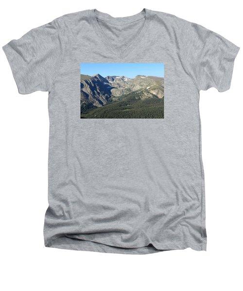 Rock Cut - Rocky Mountain National Park Men's V-Neck T-Shirt
