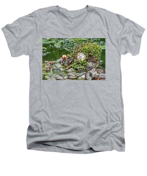 Rock Face Revisited Men's V-Neck T-Shirt