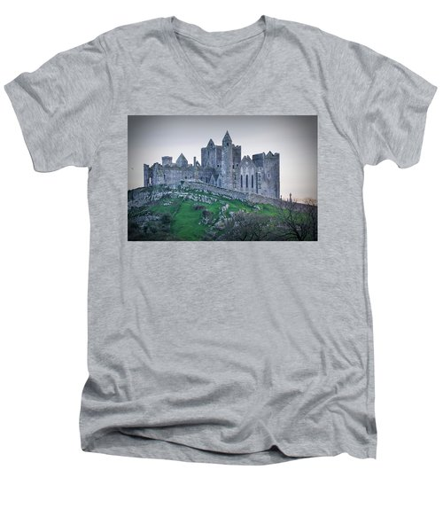 Rock Of Cashel 2017  Men's V-Neck T-Shirt