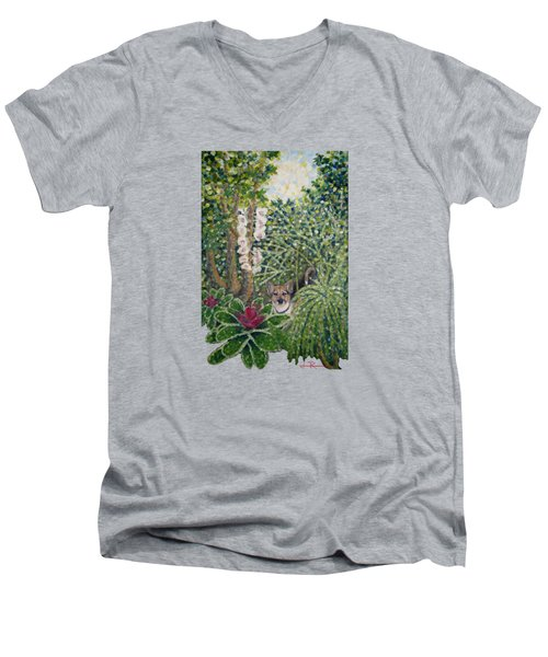 Rocke's Garden Clothing Men's V-Neck T-Shirt