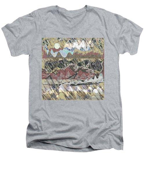 Rockies Men's V-Neck T-Shirt