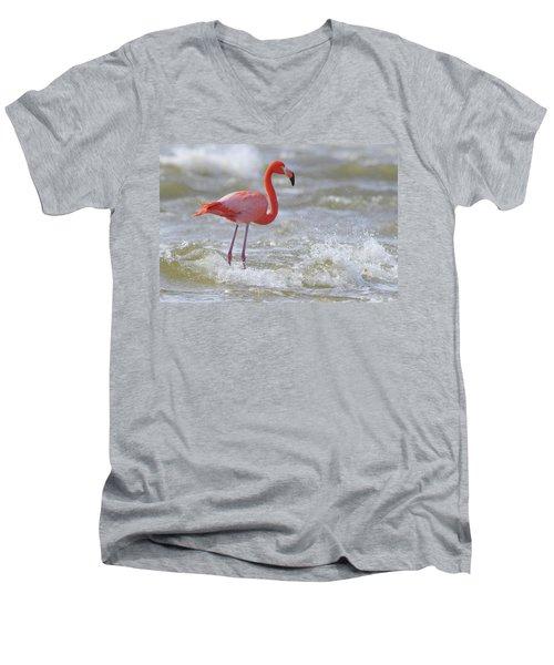 Rockin' Waves Men's V-Neck T-Shirt