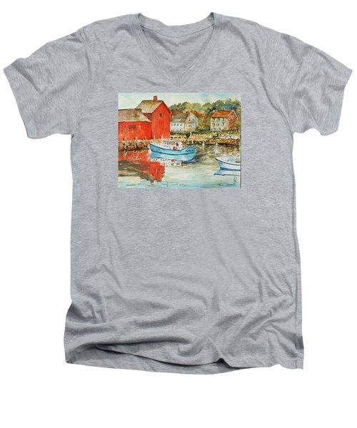 Rockport Men's V-Neck T-Shirt