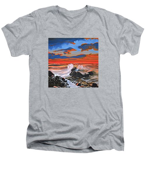 Rocky Cove Men's V-Neck T-Shirt