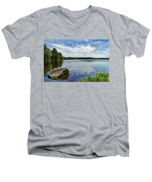 Rocky Fork Lake Men's V-Neck T-Shirt