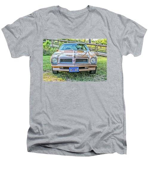 Rocky Front Center Men's V-Neck T-Shirt
