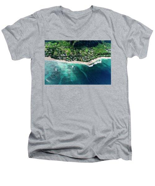 Rocky Point Overview. Men's V-Neck T-Shirt