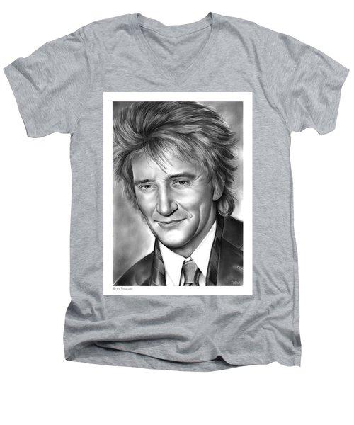 Rod Stewart Men's V-Neck T-Shirt
