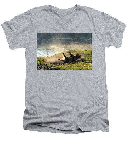 Rolling Men's V-Neck T-Shirt