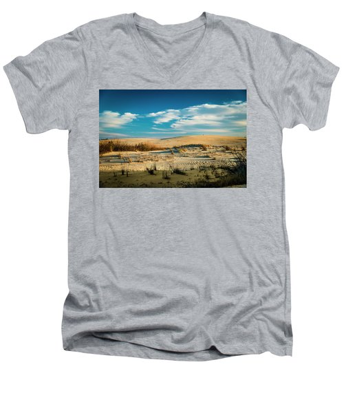 Rolling Sand Dunes Men's V-Neck T-Shirt