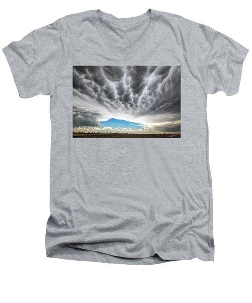 Rolling Sky Men's V-Neck T-Shirt
