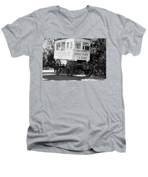 Roman Candy - Bw Men's V-Neck T-Shirt