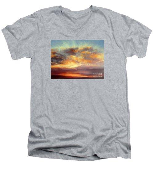 Romance Men's V-Neck T-Shirt