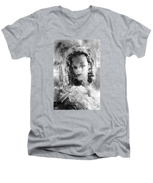 Romancing The Ice Princess Men's V-Neck T-Shirt