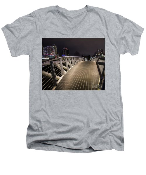 Romantic Proposal Men's V-Neck T-Shirt by Jim  Hatch