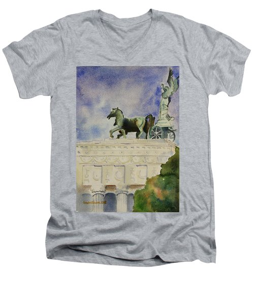Rome Souvenir Men's V-Neck T-Shirt