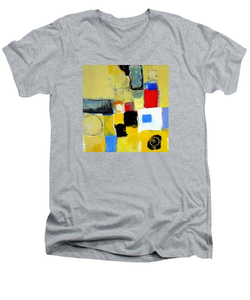 Ron The Rep Men's V-Neck T-Shirt by Cliff Spohn