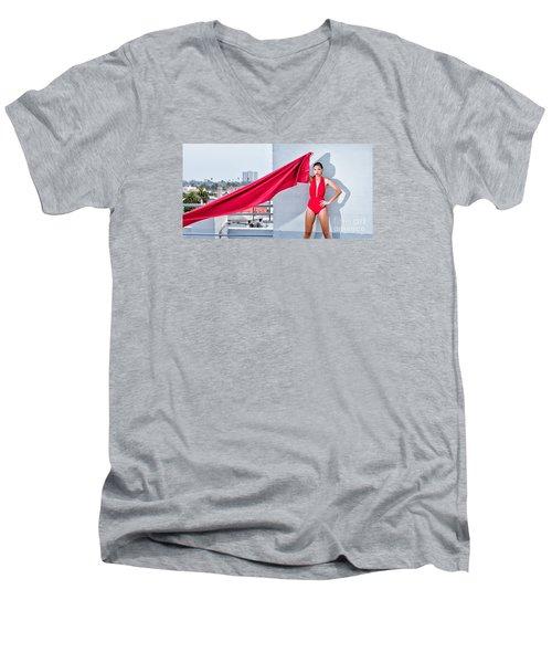 Rooftop Men's V-Neck T-Shirt