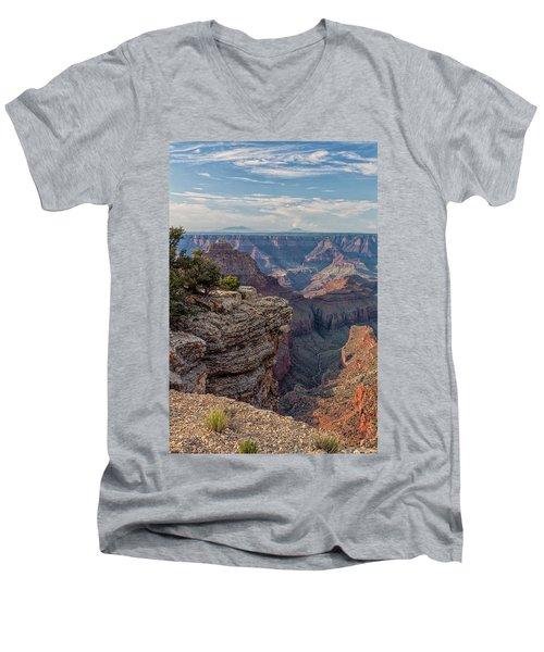 Canyon Below Men's V-Neck T-Shirt