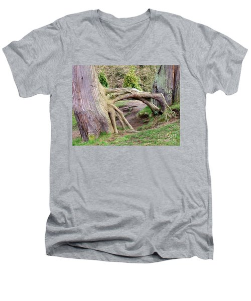 Roots Of Strength Men's V-Neck T-Shirt