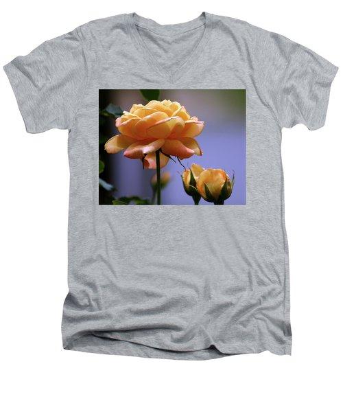 Rose 1156 H_2 Men's V-Neck T-Shirt