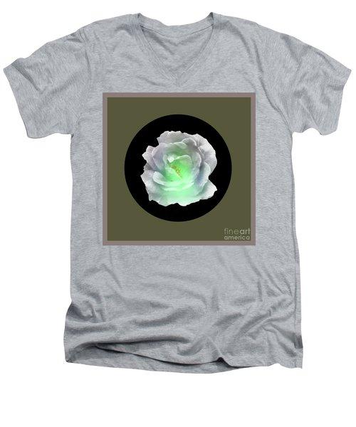 Rose 8-4 Men's V-Neck T-Shirt by John Krakora