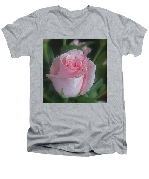 Rose Dreams Men's V-Neck T-Shirt