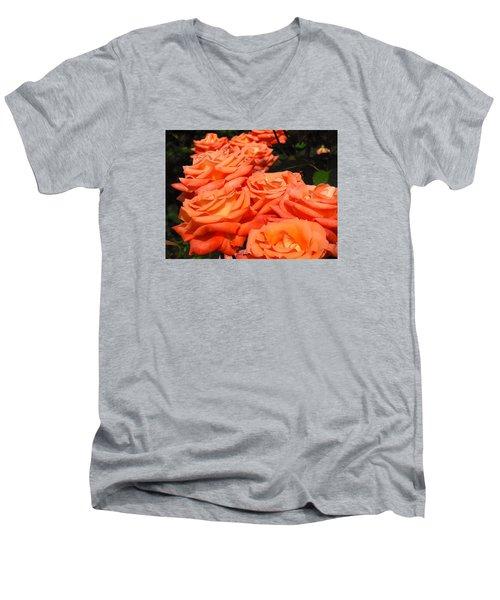Rose Path Jubilee Men's V-Neck T-Shirt