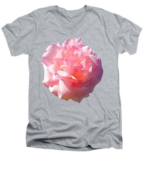Rose Rose Men's V-Neck T-Shirt