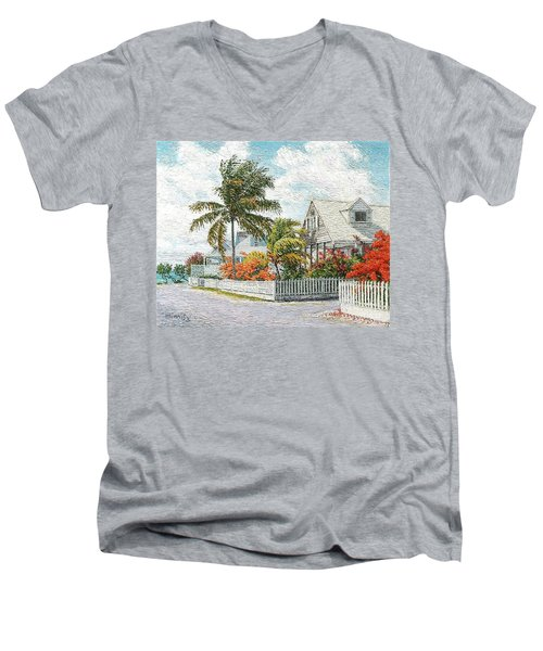 Rosebud Briland Men's V-Neck T-Shirt