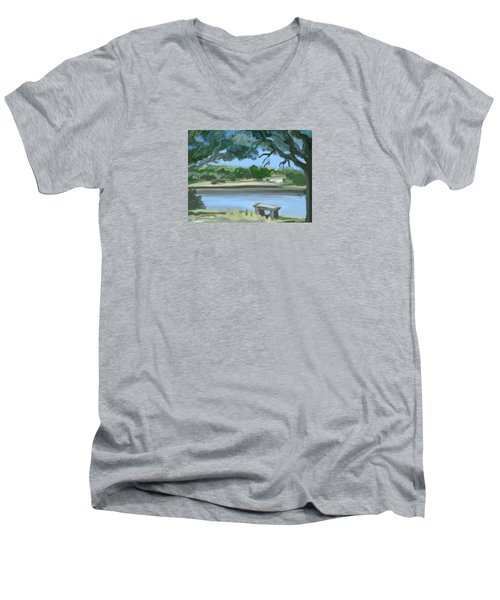 Rosemary Lake Men's V-Neck T-Shirt