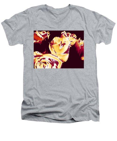 Roses #1 Men's V-Neck T-Shirt