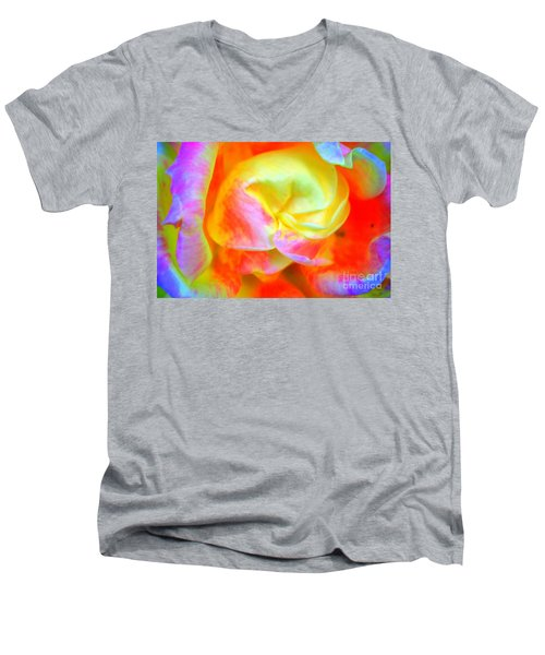 Roses 3 Men's V-Neck T-Shirt