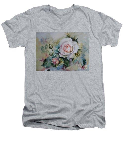 Roses Men's V-Neck T-Shirt