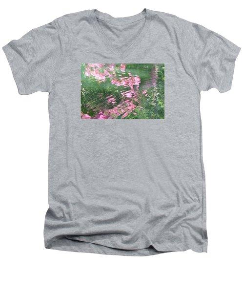 Rosey Ripples Men's V-Neck T-Shirt
