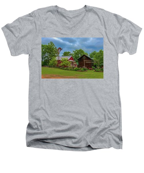 Rosholt Pioneer Park Men's V-Neck T-Shirt