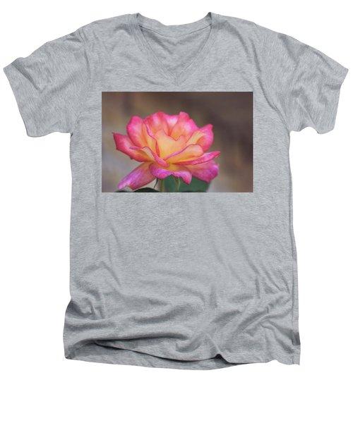 Rosie Men's V-Neck T-Shirt by Joan Bertucci