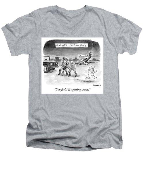 Roswell Nm 1947 Men's V-Neck T-Shirt