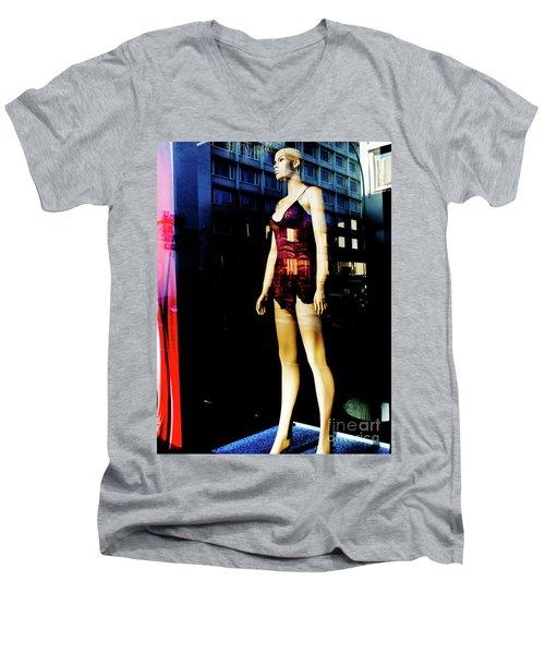 Rotlicht Men's V-Neck T-Shirt